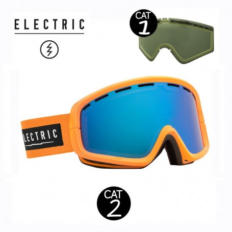 Masque de ski ELECTRIC EGB2 Orange Cat.1/2