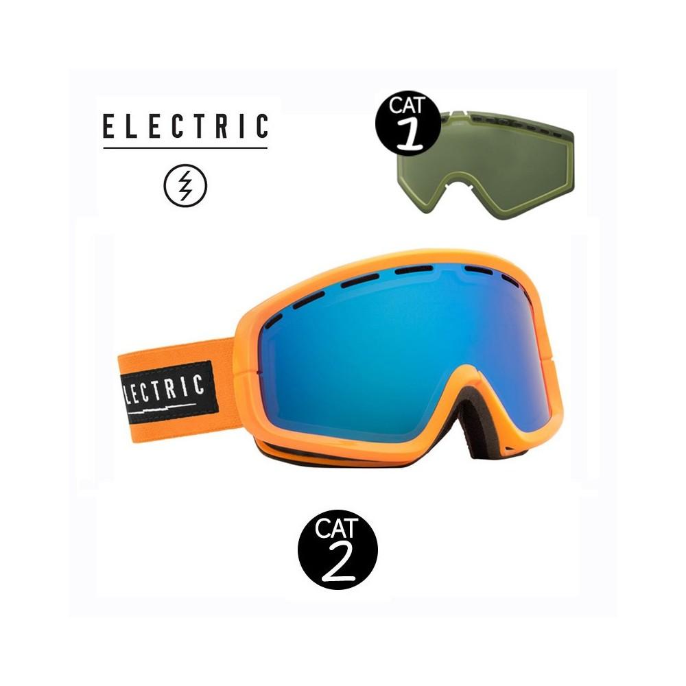 Masque de ski ELECTRIC EGB2 Orange Cat.1/2