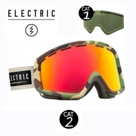 Masque de ski ELECTRIC EGB2 Camo Cat.1/2