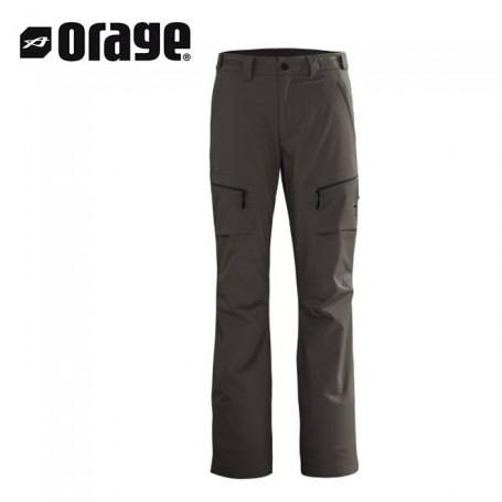 Pantalon de ski ORAGE Exodus Gris Homme