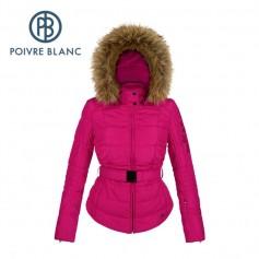 Blouson de ski POIVRE BLANC W15-1003 WO/A Rose Femme