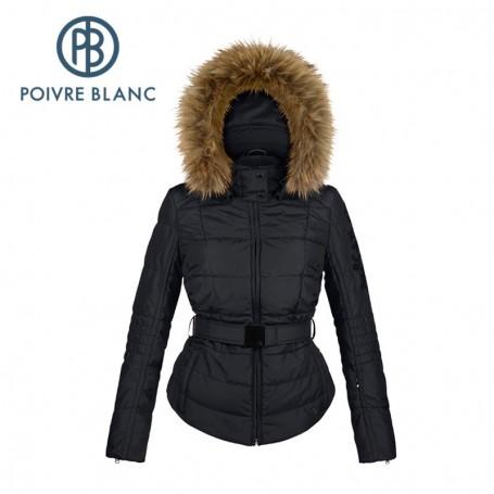 Blouson de ski POIVRE BLANC WO/B Ski Jacket Noir Femme