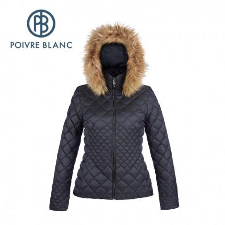 Doudoune POIVRE BLANC Down Jacket Noire Femme