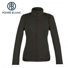 Veste stretch POIVRE BLANC W14-1700 WO Gris pétrole Femme