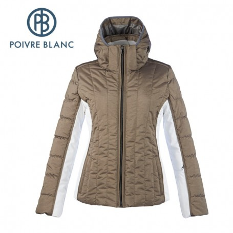 Blouson de ski POIVRE BLANC WO Ski Jacket Bronze Femme