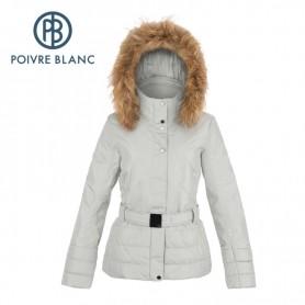 Veste de ski POIVRE BLANC JRGL/A Ski Jacket Argent Femme