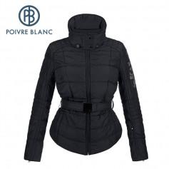 Blouson de ski POIVRE BLANC W15-1003 JRGL Noire Fille