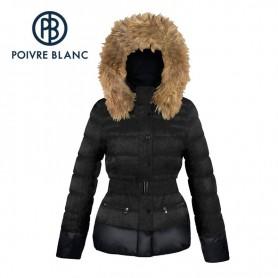 Doudoune POIVRE BLANC Down Jacket Noire Fille