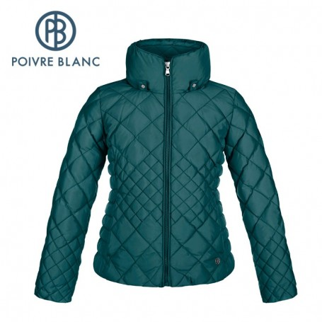 doudoune poivre blanc jrgl down jacket bleu fille sport a tout prix. Black Bedroom Furniture Sets. Home Design Ideas