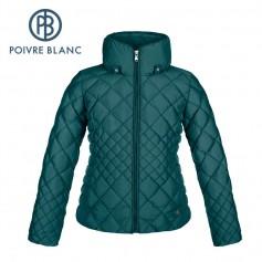 Doudoune POIVRE BLANC JRGL Down Jacket Bleu Fille