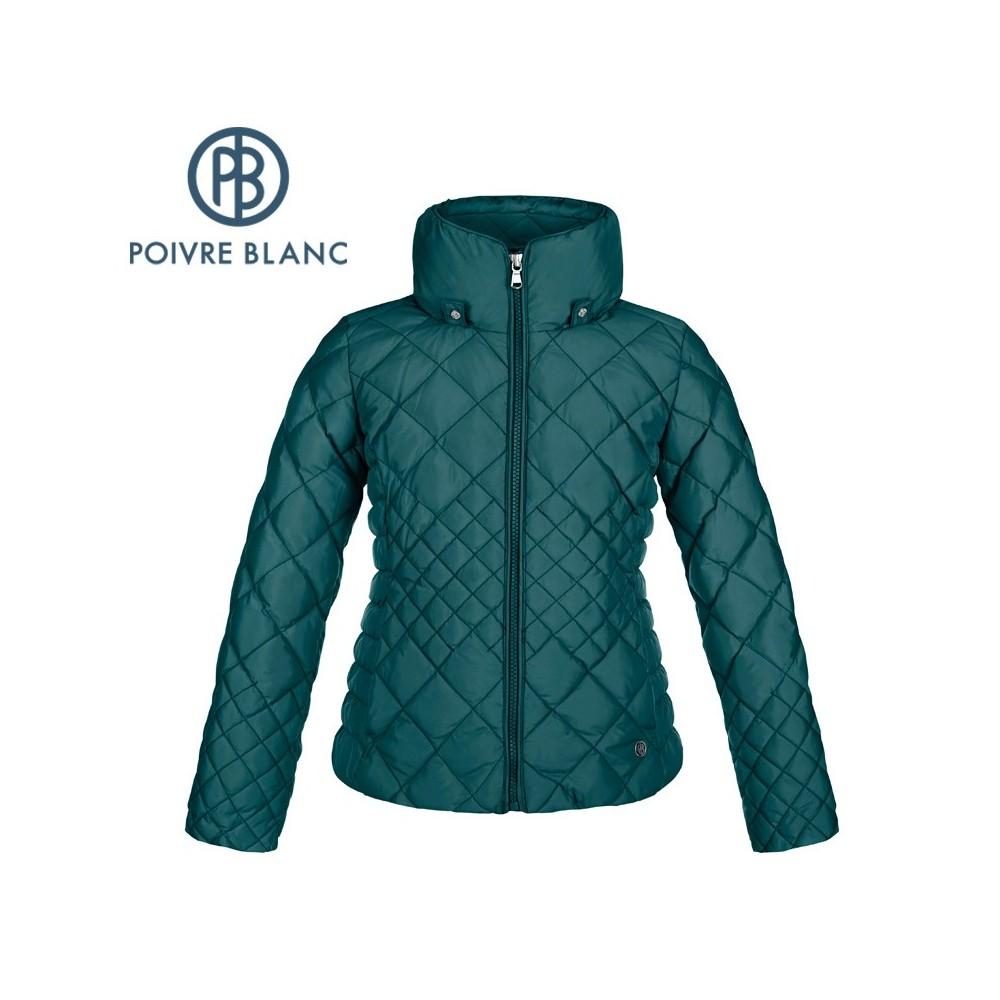 Doudoune POIVRE BLANC Down Jacket Bleu Fille