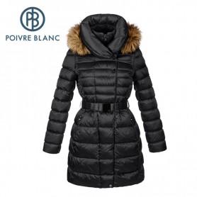 Manteau duvet POIVRE BLANC Down Jacket Noir Fille