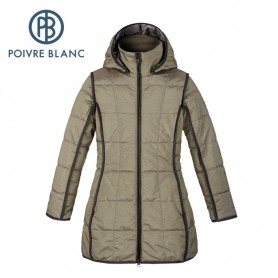 Manteau POIVRE BLANC Padded Coat Bronze Fille