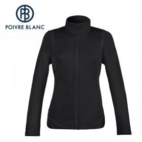 Veste stretch POIVRE BLANC Jacket Noir Fille