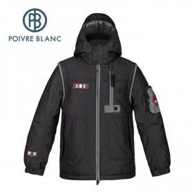 Veste de ski POIVRE BLANC JRBY Ski Jacket Noir Garçon