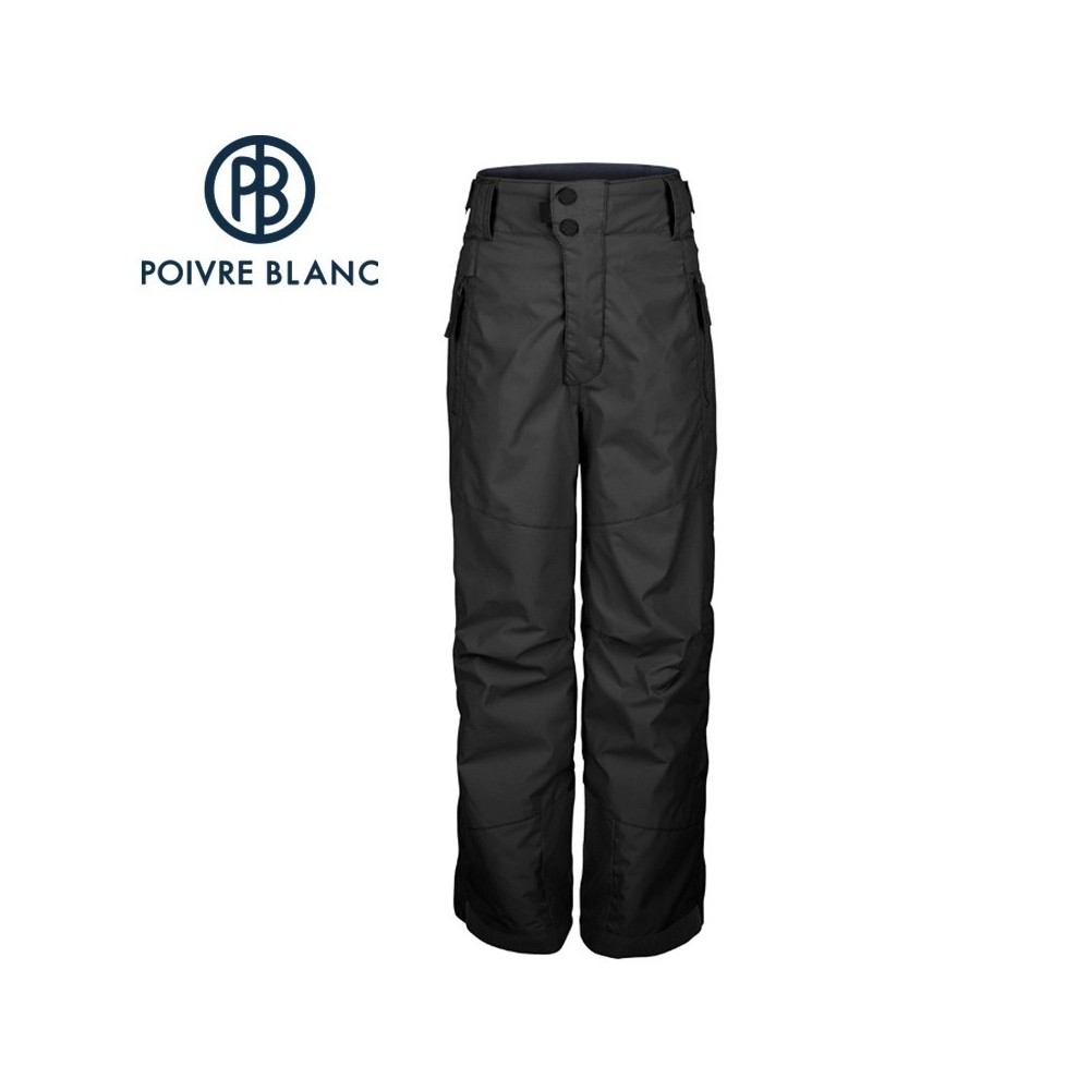 pantalon de ski poivre blanc jrby ski pant noir gar on sport a tout prix. Black Bedroom Furniture Sets. Home Design Ideas