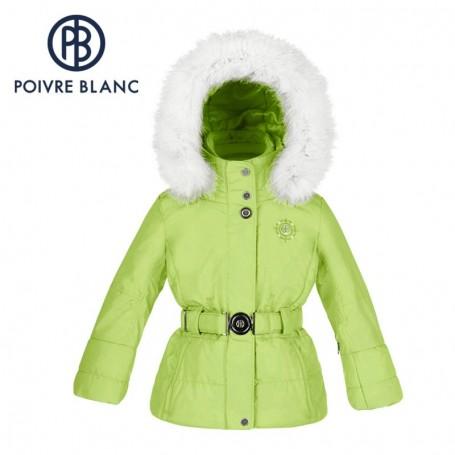 Veste de ski POIVRE BLANC BBGL Ski Jacket Verte BB Fille