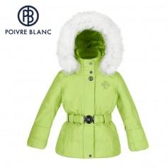 Veste de ski POIVRE BLANC W15-1000 BBGL/A Verte BB Fille