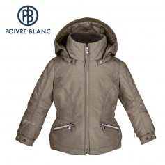 Veste de ski POIVRE BLANC W15-1002 BBGL Bronze BB Fille