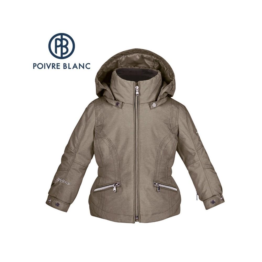 Veste de ski POIVRE BLANC BBGL Ski Jacket Bronze BB Fille