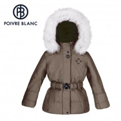 Veste de ski POIVRE BLANC W15-1000 BBGL/A Bronze BB Fille