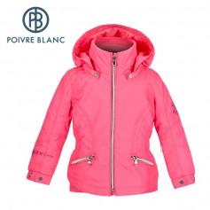 Veste de ski POIVRE BLANC W15-1002 BBGL Rose BB Fille