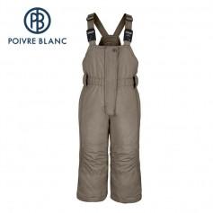 Salopette de ski POIVRE BLANC W15-1024 BBGL Bronze BB Fille