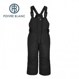 Salopette de ski POIVRE BLANC BBGL Ski Bippant Noir BB Fille