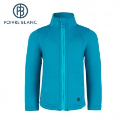 Veste Stretch POIVRE BLANC BBGL Jacket Bleu BB Fille