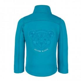 Polaire POIVRE BLANC BBGL Jacket Bleu BB Fille
