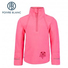 Polaire POIVRE BLANC BBGL Sweat Rose BB Fille