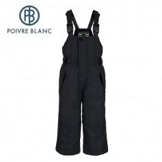 Salopette de ski POIVRE BLANC BBBY Ski Bippant Noir BB Fille