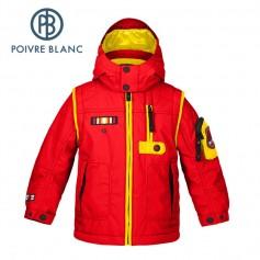 Veste de ski POIVRE BLANC W15-0900 BBBY Rouge BB Garçon