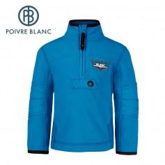Polaire POIVRE BLANC BBBY Fleece Sweater Bleu BB Garçon