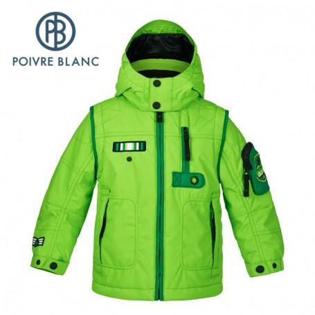 Veste de ski POIVRE BLANC BBBY Ski Jacket Verte BB Garçon