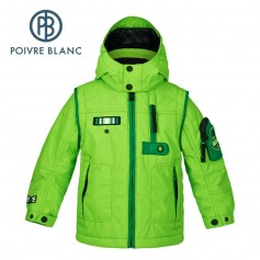 Veste de ski POIVRE BLANC W15-0900 BBBY Verte BB Garçon