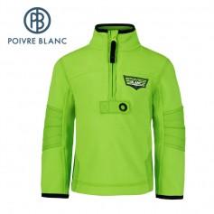 Polaire POIVRE BLANC W15-1550 BBBY Vert BB Garçon