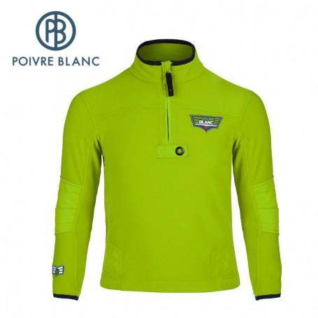 Polaire POIVRE BLANC JRBY Fleece Sweater Green Garçon