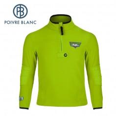 Polaire POIVRE BLANC W15-1550 JRBY Vert Garçon