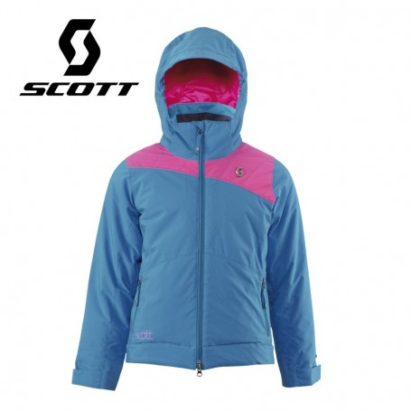 Veste de ski SCOTT G's Jacket Pro Stretch Bleu / Rose Fille