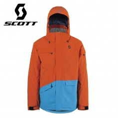 Veste de ski SCOTT Terrain Dryo Plus Orange / Bleu Hommes