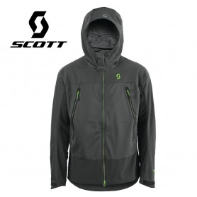 Veste Windstopper SCOTT Explorair Softshell Grise Hommes