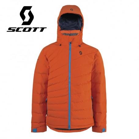 Doudoune de ski SCOTT Terrain Down Orange Hommes
