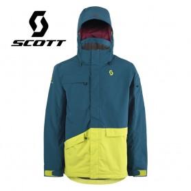 Veste de ski SCOTT Terrain Dryo Plus Bleu / Jaune Hommes