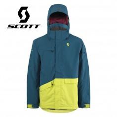 Veste de ski SCOTT Terrain Dryo Plus Bleu / Vert Hommes