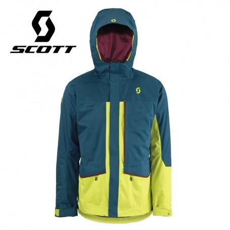 Veste de ski Scott Vertic 2L Insulated Bleu / Vert Hommes