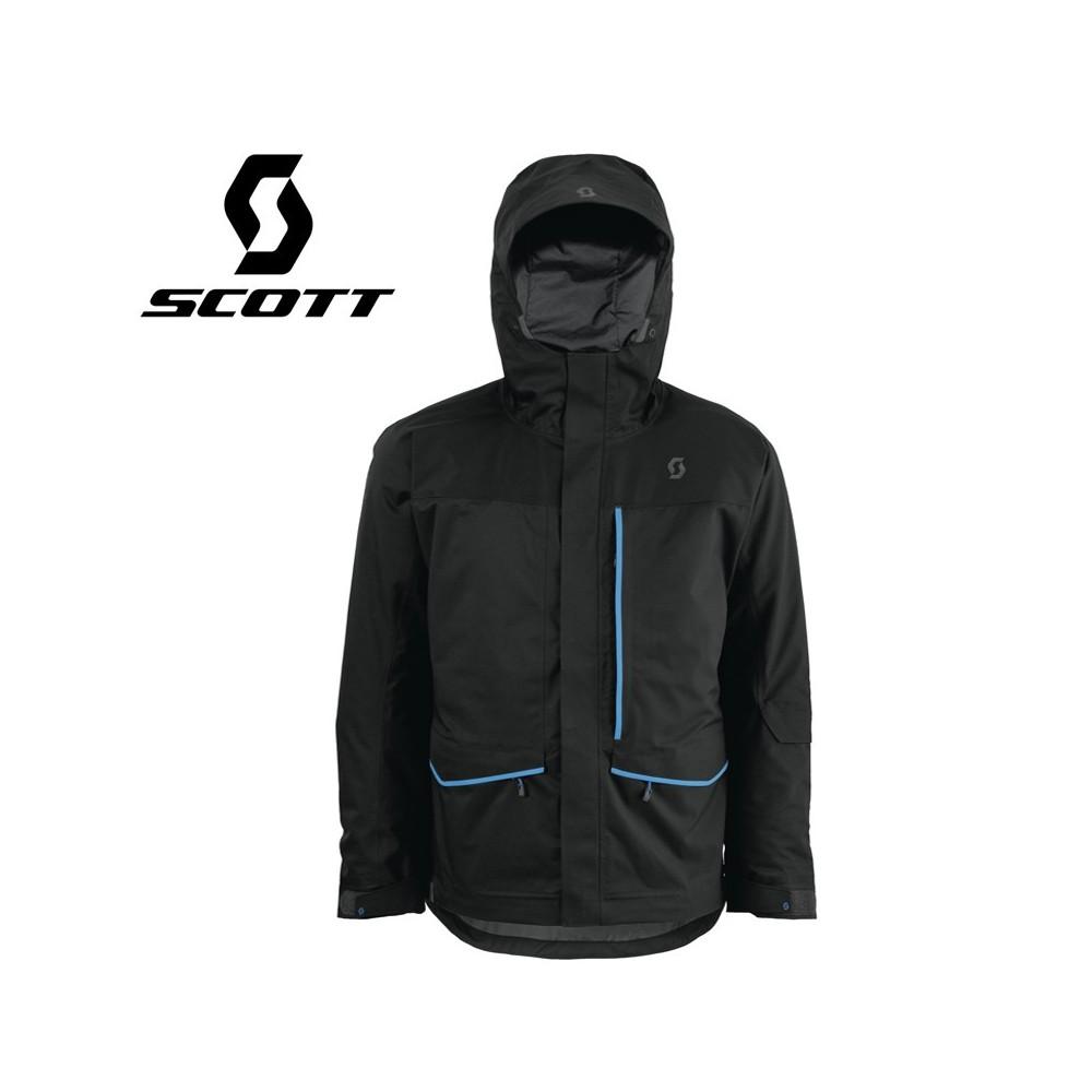 Veste de ski Scott Vertic 2L Insulated Noire Hommes
