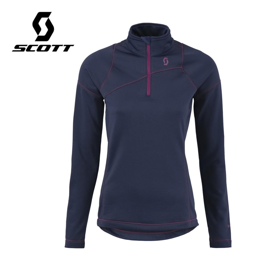 Pullover 1/2 zip SCOTT Defined Light Violet Femmes