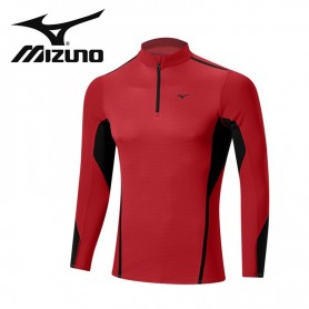 Maillot thermique MIZUNO VB Fusion H/Z Rouge Hommes