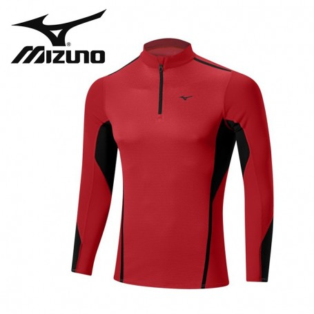 Maillot thermique MIZUNO VB Fusion H/Z Rouge Hommes